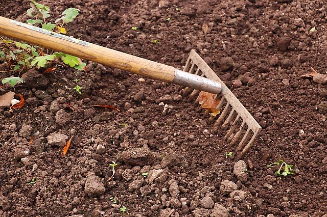 préparation du sol pour jardinage biologique